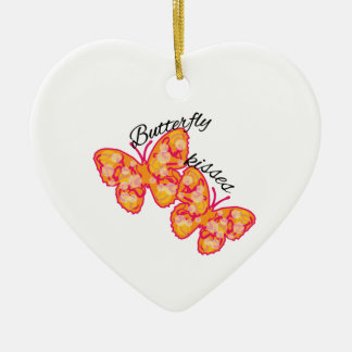 Butterfly Kisses Christmas Ornament