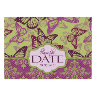 Butterfly Kisses Flirt SD Notecard Pack Of Chubby Business Cards
