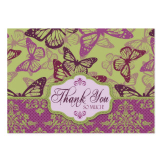 Butterfly Kisses Flirt TY Notecard Pack Of Chubby Business Cards