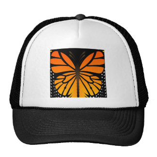 Butterfly Kisses Floral Angel Graphic Design Hats