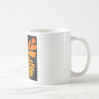Butterfly Kisses Floral Angel Graphic Design Coffee Mug