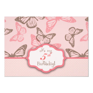Butterfly Kisses Invitation