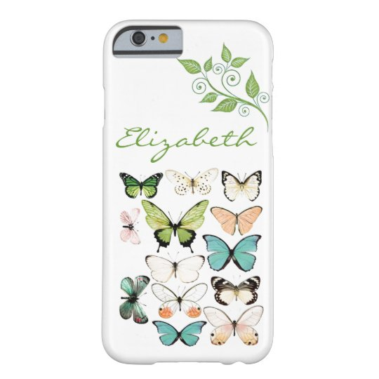 Butterfly Kisses iPhone 6 Phone Case