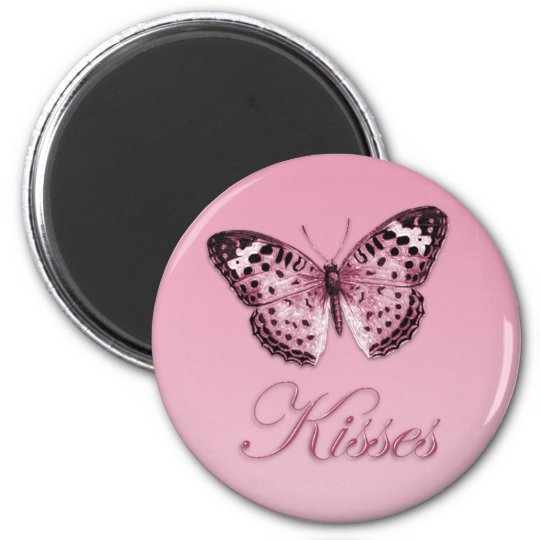 Butterfly Kisses Magnet