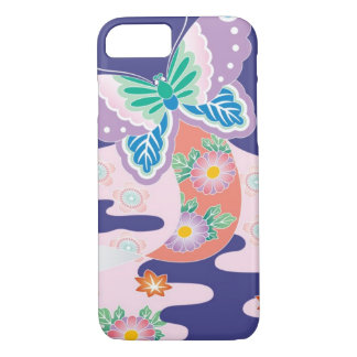 Butterfly kite iPhone 7 case