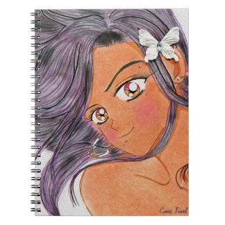 Butterfly Klip Notebook