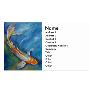 Butterfly Koi Business Card