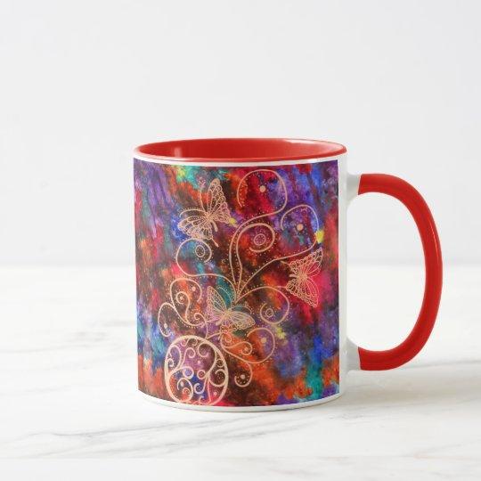 Butterfly Lace Mug