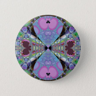 butterfly land 1 6 cm round badge