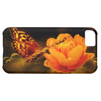 Butterfly Landing on Flower iPhone 5C Case