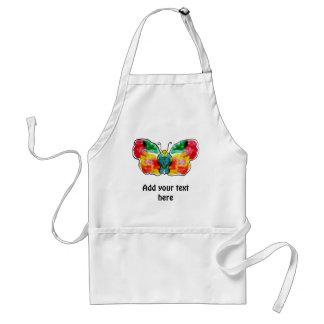 Butterfly - landscape template design standard apron
