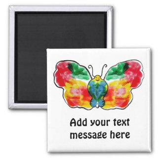 Butterfly - landscape template design refrigerator magnet