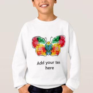 Butterfly - landscape template design sweatshirt