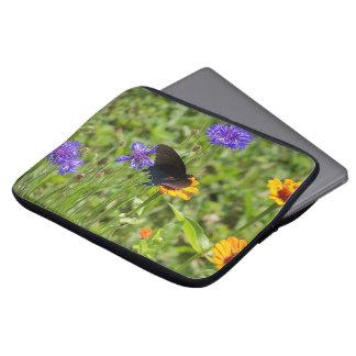 Butterfly laptop sleeve