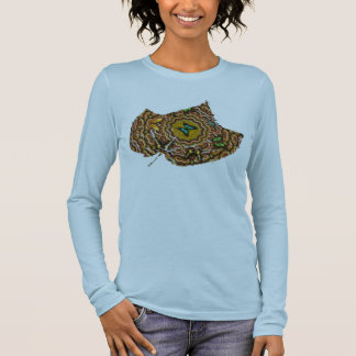 Butterfly Leaf Long Sleeve T-Shirt
