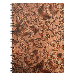 Butterfly Leather 1 Notebook