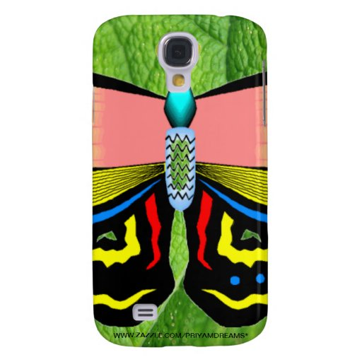BUTTERFLY - LIVE LAUGH LOVE GALAXY S4 CASE