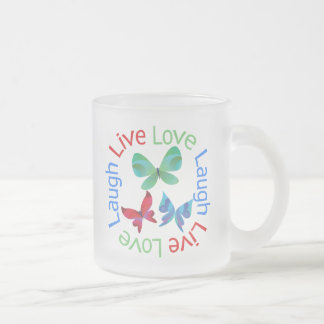 Butterfly - Live Love Laugh Coffee Mug