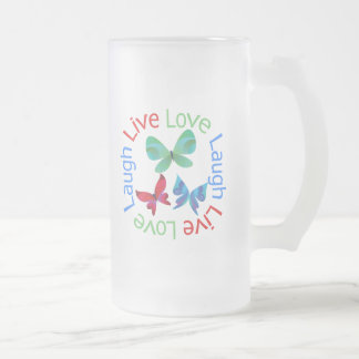 Butterfly - Live Love Laugh Mug