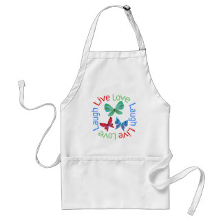 Butterfly - Live Love Laugh Standard Apron