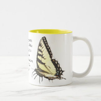 Butterfly Living Quote Mug