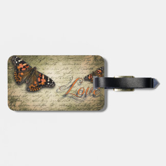 Butterfly Love Luggage Tag