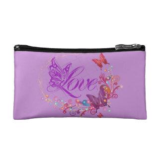 Butterfly love makeup bag