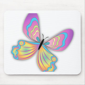 Butterfly Love Mouse Pads