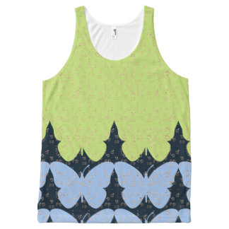 Butterfly-Love-Nature-Women's-Tops_Multi-Sizes All-Over Print Tank Top