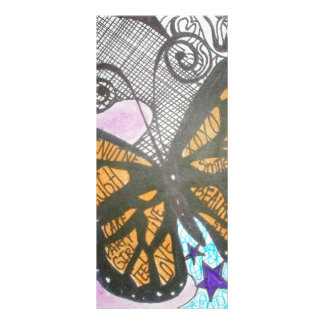 Butterfly Love Personalised Rack Card
