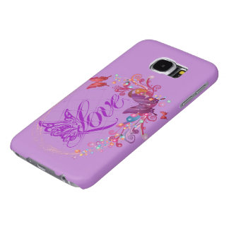 Butterfly love samsung galaxy s6 cases