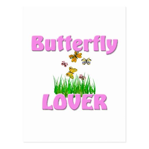 Butterfly Lover Post Cards