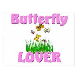 Butterfly Lover Postcard