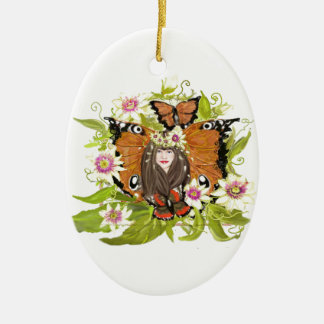 Butterfly Magic design various products Christmas Ornament