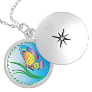 Butterfly Magic Silver Plated Necklace
