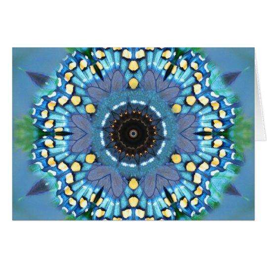 Butterfly Mandala Card