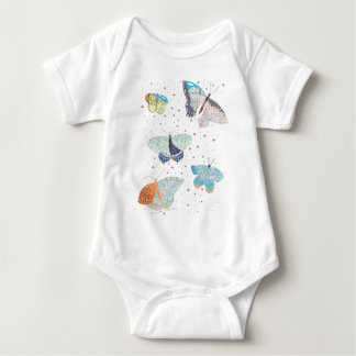 Butterfly Meadow Habitat Baby Bodysuit