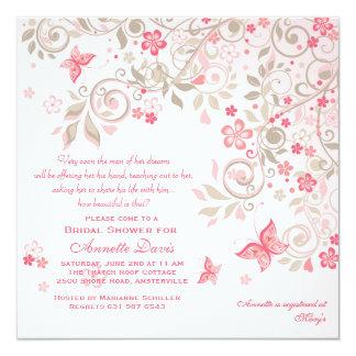 Butterfly Meadow Invitation
