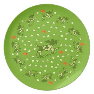 Butterfly Meadow Plate