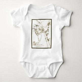 Butterfly Mechanics 001 Baby Bodysuit