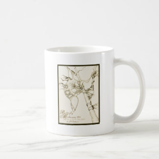 Butterfly Mechanics 001 Basic White Mug