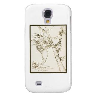 Butterfly Mechanics 001 Galaxy S4 Case
