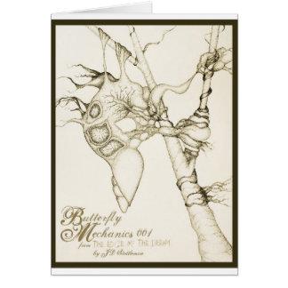 Butterfly Mechanics 001 Greeting Card