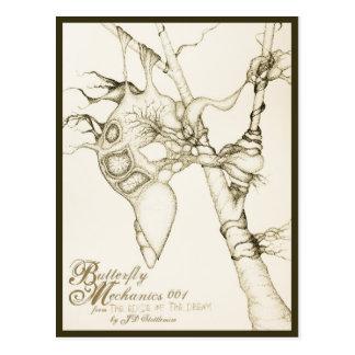 Butterfly Mechanics 001 Post Cards