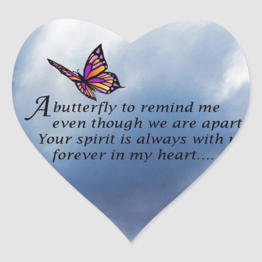 The blue butterfly poem