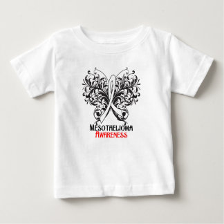 Butterfly Mesothelioma Cancer Awareness Tee Shirt