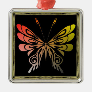 Butterfly Metal Ornament