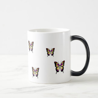 Butterfly Morphing mug CHANGES when hot