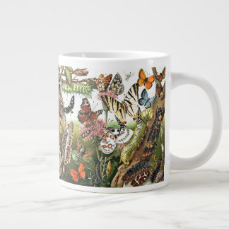 Butterfly Moth Caterpillar Insect Jumbo Bug Mug