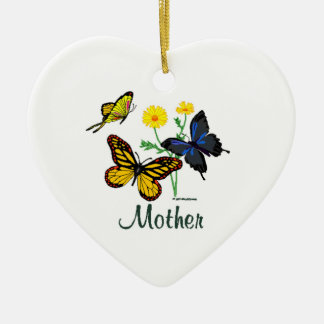 Butterfly Mother Christmas Ornament
